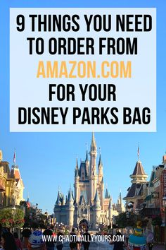 Make sure you have all the essentials in your park bag for your big trip to Disney World! - Travel Orlando - Ideas of Travel Orlando Voyage Disney World, Viaje A Disney World, Disney World Tipps, Disney World Parks, Disney World Tips And Tricks, Disney Tips, Disney Worlds, Disney Ideas, Plan Disney World Trip