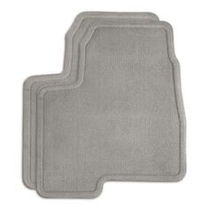 Traverse Floor Mats, Front Carpet Replacements, Titanium These Carpet Replacement Floor Mats for the front of your Traverse duplicate your original production floor mats exactly.