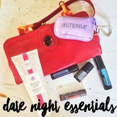 My hubby is taking me on a date tonight and I have no idea where we are going!  Of course there are some essentials that I have packed along with me for this fun evening!  . 1 Whisper essential oil blend as my perfume.  Whisper is a delicious blend of EOs that are designed to promote sensuality and sexuality in women.  Every single oil in this blend helps bring about confidence joy peace and elevates mood/emotions while helping to reduce stress.  2 Peppermint Beadlets as my after-dinner…