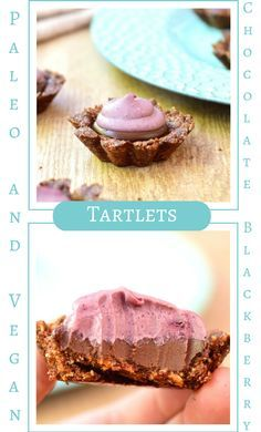 These paleo and vegan Chocolate Blackberry Tartlets are delicious and healthy!  I lost 8 sizes and reversed Type 2 Diabetes through diet and lifestyle.  For more healthy ideas follow me on Pinterest and subscribe to my blog at this link. #paleodessert