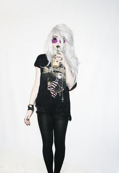 Ashley Joncas Grunge Goth Dark Fashion #NitroFash