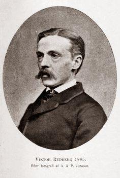 Viktor Rydberg år 1865, en inte särskilt lycklig tid i hans liv.