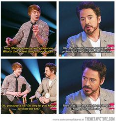 RDJ just takes what he wants...