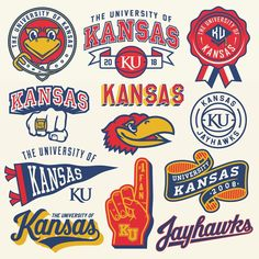 Discover recipes, home ideas, style inspiration and other ideas to try. College Canvas Paintings, Kansas Jayhawks Football, University Of Kansas, Most Beautiful Images, Sports Graphics, College Fun, Kat Von D, Espn, Happy Friday