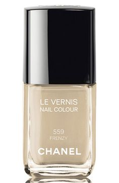 Chanel polishes are expensive but incredibly chic, like Frenzy, an elegant, new-for-fall gray with just a whisper of lilac. It caused a collective swoon at the salon I go to.
