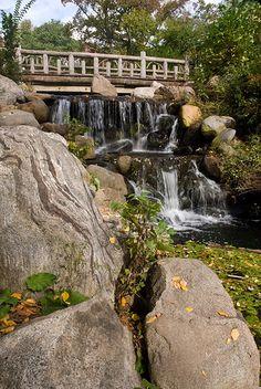 Waterfall in Prospect Park, Brooklyn, NY