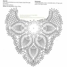 pineapple shawl fully diagrammed- free crochet pattern