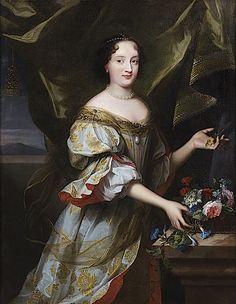 Hortense Mancini, Duchess of Mazarin (1646, Rome – 9 November 1699, Chelsea) mistress of Charles II