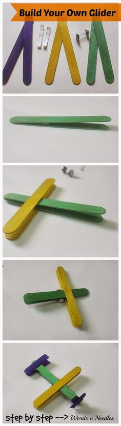 Popsicle stick craft