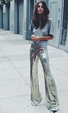 49 Easy Outfits To Look Cool And Fashionable – Fashion New Trends Street Style Outfits, Looks Street Style, Looks Style, Mode Outfits, Fashion Week, Look Fashion, Womens Fashion, Fashion Trends, Space Fashion