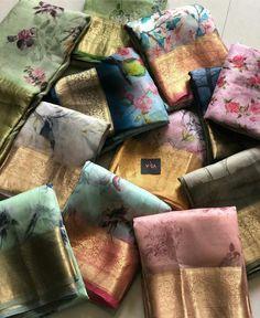 Kaha milegi yah Kota Silk Saree, Indian Silk Sarees, Tussar Silk Saree, Indian Beauty Saree, Bridal Anarkali Suits, Saree Floral, Sari Design, Organza Saree, Saree Trends