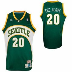 adidas Gary Payton Seattle SuperSonics Soul Swingman Nickname Jersey - Green 8dbfc3d26
