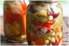 Toursi (Τουρσί) ~ Greek Pickled Vegetables Greek Vegetables, Veggies, Fennel Recipes, Pickles, Cucumber, Food To Make, Tasty, Nutrition, Canning