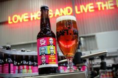 Шотландские пивовары выпустили пиво Hello My Name Is Vladimir.