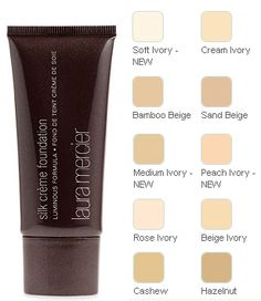 Laura Mercier Silk Creme Foundation = Best High End Full Coverage Foundation