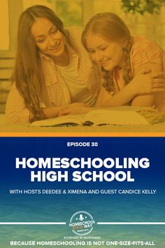 When you hit the high school years, yes, you need a plan, and it's best to stick with it instead of flip flopping around. But that doesn't mean you throw out all the fun! Learn how to relax through the high school years with special guest Candice Kelly who has already graduated one son.
