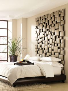 Unique King Size Beds | , is part of Contemporary Upholstered Headboards for Excellent Bed ...