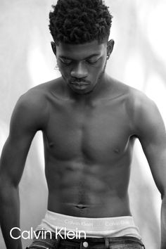 Lil Nas X in the Cotton Classic Fit Trunk. By Ryan McGinley Studios. Calvin Klein Underwear, Boxer Briefs, A Good Man, Studios, Trunks, Classic, Fitness, Swimwear, Cotton
