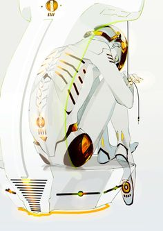 cabeza-robot:  pix-original:  「人造」/「アオジ」のイラスト [pixiv]