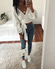 Pin by jeny fisher-rojas on fashion. in 2019 базовая одежда, Cute Casual Outfits, Girly Outfits, Mode Outfits, Stylish Outfits, Fashion Outfits, Fashion Ideas, Flannel Outfits, Swag Outfits, Teenager Outfits