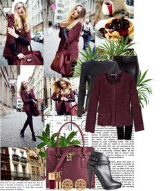 """""""Cranberry Bag"""" by gailschurman ❤ liked on Polyvore"""
