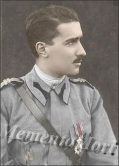 Prince Barbu Stirbey, Queen Marie's lover and the biological father of her two youngest children, Princess Ileana and Prince Mircea.