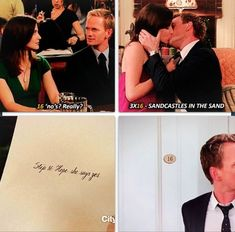 Barney e Robin primo hook up
