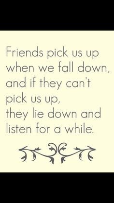 That's what friends are for :)