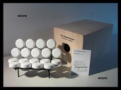 VITRA : George Nelson, Marshmallow Sofa / Miniature / MIB ( **NEW** )