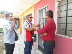 Canal Eco TV y  Orlando Huallanca.