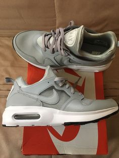 57d3ce1c1ec8 Mens Nike Air Max Prime Shoes Size 11 Grey and White  fashion  clothing
