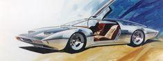 1973 XP-897 GT/2-Rotor Corvette Artwork   Dean's Garage