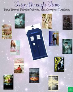 YA fantasy and sci-fi books that feature time travel!