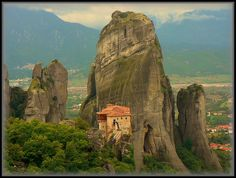 Meteora-Kloster, Greece