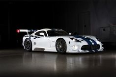 The SRT Viper GT3-R, the latest version of the Viper GTS-R, starts at an estimated $459,000.