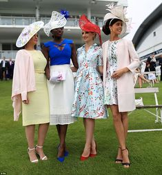 The Investec Epsom Derby Festival Ladies' Day Royal Ascot Ladies Day Epsom Derby Furlong Fashion Fashion At The Races Racing Style