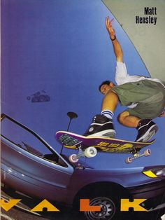 Matt Hensley Ollie Airwalk ad