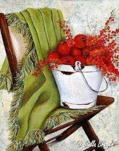 Art by Stella Bruwer Stella Art, Fleurs Diy, South African Artists, Arte Floral, Beautiful Paintings, Artist Painting, Vintage Flowers, Art World, Art Pictures