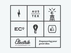 Electrik Co. Brand Buildout by Brendan Pittman