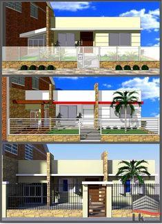 2ebac6d8c00 Estudos para remodelação de fachada residencial.