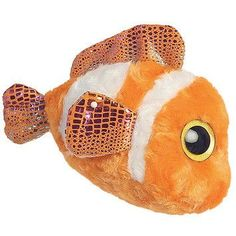 Clownee Stuffed Clownfish - Set Of 3