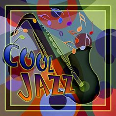 """♪♫♫ """"Cool Jazz Mural"""" by Kate Ward Thacker."""
