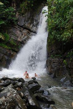 El Yunque Rainforest - La Mina Falls - Puerto Rico  #GOGOPRWeek