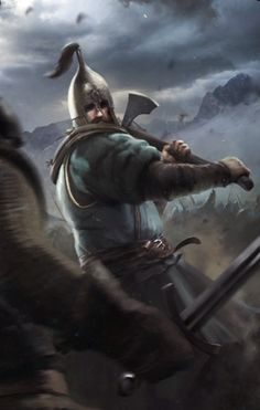 Clan Tuirseach Axeman The Witcher 3 Wild Hunt / Gwent Card.