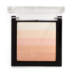 Inglot Cosmetics AMC Multicolour Highlighting Powder 83 product smear.