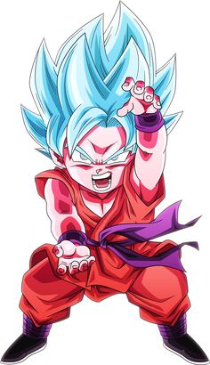 Image result for goku ssj blue kaioken
