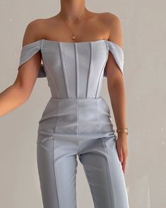 Glamouröse Outfits, Cute Casual Outfits, Pretty Outfits, Stylish Outfits, Elegantes Business Outfit, Elegantes Outfit, Look Fashion, Womens Fashion, Fashion Design