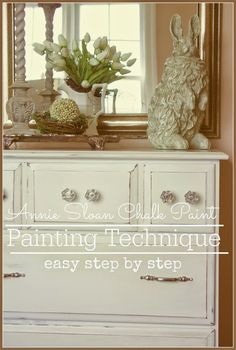 PAINTING TECHNIQUE... step by step for using Annie Sloan Chalk Paints stonegableblog.com