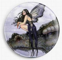Dragon Needle Minder, Licensed Art, Dragon Skies, Selina Fenech, Cross Stitch…