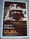 Duel Orig. US 1 SH. Movie Poster Steven Spielberg Dennis Weaver  Peterbilt 281 - http://awesomeauctions.net/movie-posters/duel-orig-us-1-sh-movie-poster-steven-spielberg-dennis-weaver-peterbilt-281/